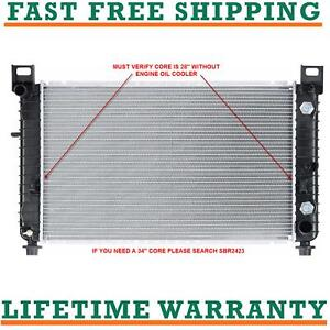 Radiator For 99 11 Chevy 1500 Tahoe Gmc Yukon 28 Core V8 Direct Fit