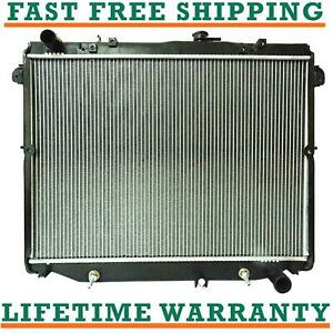 Radiator For 98 07 Toyota Land Cruiser Lexus Lx470 4 7l Direct Fit