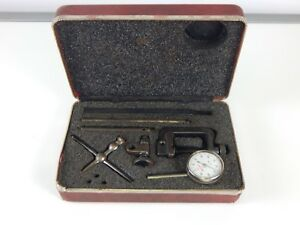 Starrett No 196 Universal Dial Test Indicator Set 15700 E12