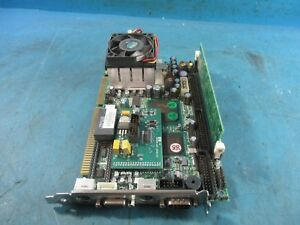 Portwell Robo 605 Single Board Computer With 128mb Ram And Lcd Drive Used