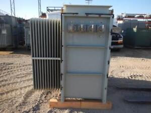 Balteau 1500 Kva Substation Transformer pwb 0112