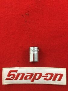 Snap On Tool Usa 3 8 Drive Socket Sae Shallow Chrome 6 Point 9 16 Fs181