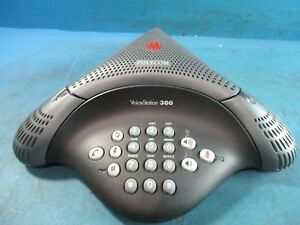 Polycom Voicestation 300 Speakerphone Model 2201 17910 001 Used