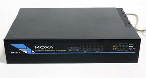 Moxa Da 683 dpp t xpe Industrial Embedded Computer