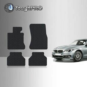 Toughpro Floor Mats Black For Bmw 5 Series All Weather Custom Fit 2004 2010