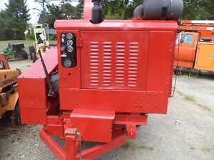 Woodsman Model 2012 Chipper Large Drum Diesel Hdy Feed Morbark One Qwner