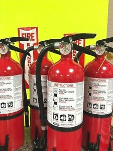 4 fire Extinguisher kidde 5lb Non Rechargeable 3a 40b c W Bracket