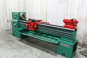 19 X 84 Summit Gap Bed Engine Lathe With 4 Spindle Hole Stk 68482
