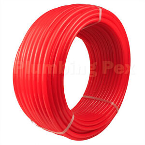 3 4 X 100 Red Oxygen Barrier Radiant Heat Pex Tubing Piping System Nsf Astm