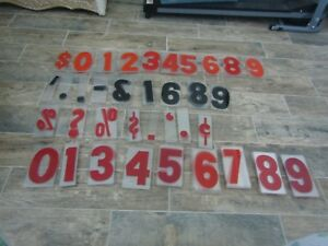 Lot Of 190 Gemini 6 Marquee Shop Store Letters Numbers Clear Plastic Sign Look
