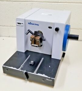 Leica Reichert jung Model 2030 Biocut Table top Rotary Microtome