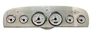 1961 1962 1963 1964 1965 Ford Truck 6 Gauge Gps Dash Cluster White