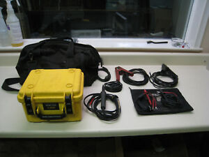 Aemc 6240 Micro ohmmeter W Cables Storage Bag Used Free Shipping