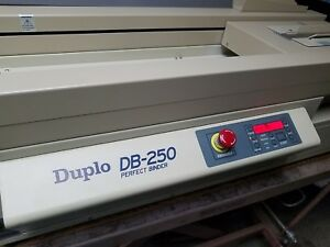 Duplo Perfect Binder Db 250 Table Top Model