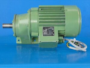 1hp Brutscher E11 80 C 4 Enclosed 1380 Rpm 230 400v Electric Motor