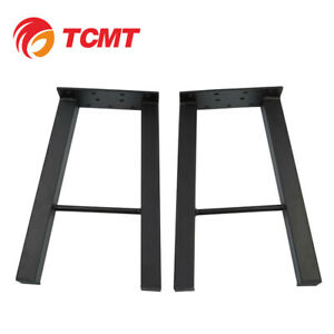 Black 16 Industry Table Leg Metal Steel Chair Bench Legs Diy Furniture New