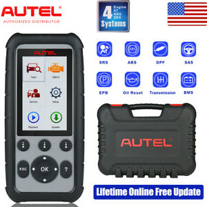 Autel Md805 Obd2 Diagnostic Scan Tool Tpms Better Than Maxidiag Md802 All System