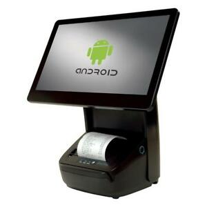 Hisense Hk716 Integrated Pos Touch Terminal W 80mm Printer Msr Android New