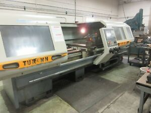 2008 Toolmex Fat Haco Tur630 mn 2 Axis Cnc Lathe Manual Plus 25 X 118