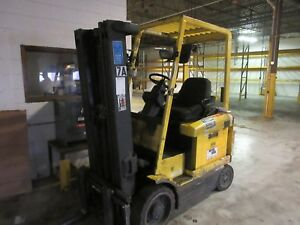 Hyster Forklift Lift Truck Electric W Charger Cushion Tire 189 Lift