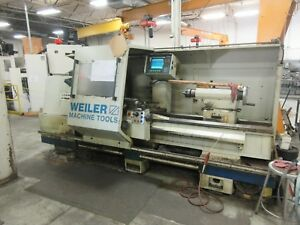 Weiler E70 Cnc Lathe Manual Plus 28 X 72 2 Axis 4 Bore 20 Chuck