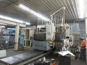 Okuma Mcv 16 Double Column Vertical Machining Center Osp7000 3 Axis Cnc 62 x118