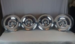 Centerline Center Line Wheels X4 Smoothie 17x7 8 Polish Billet Alloy Foose