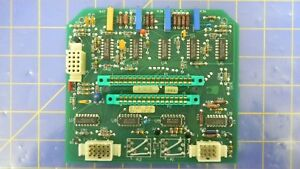 Thermco 01 262 131 001 Rev j Pcb Assembly Working When Removed
