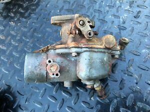 Case Sc Tractor Carb