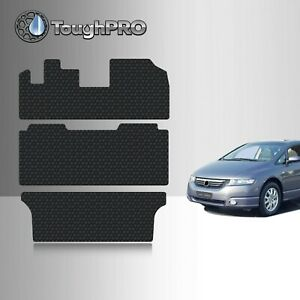 Toughpro Floor Mats 3rd Row For Honda Odyssey All Weather 1999 2004