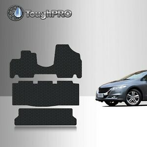 Toughpro Floor Mats 3rd Row Black For Honda Odyssey All Weather 2005 2010