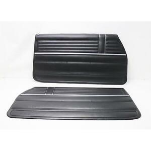 Pui Pd310 Front Interior Door Panels 1968 Chevelle Pair