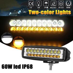 12v Work Light 20led Spotlight Driving Fog Lamp Bar Spot Light Car Suv Off Road