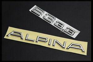 B3 3 3 Emblem Badge Logo For Bmw Alpina E36 E46 E90 E91 F30 F31 318i 320i 323i