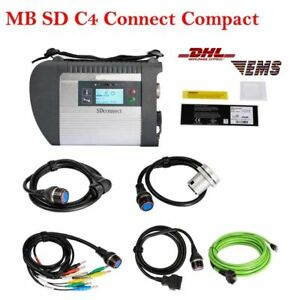 Mb Star C4 Sd Connect Compact 4 Multiplexer Diagnostic Tool For Benz Full Set