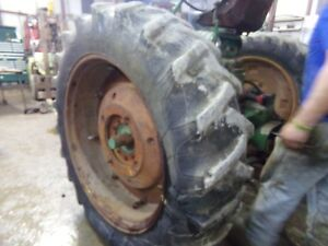 Oliver 1600 Tractor Fire Stone Gum Dipped 15 5 38