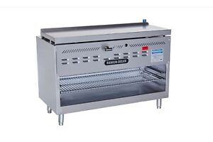 Rankin delux Rdcm 72 c ss Commercial Ss Gas Infrared Cheese Melter Broiler