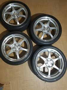 Jdm Ssr Type C 18x8 5x114 3 40 Lighter Than Volk Te37