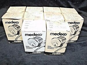 Lot Of 10 Medeco 20 8006 High Security Lock Cylinder For Sargent W air Keyway