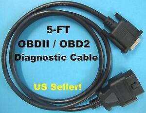 All In One New Obdii Obd2 Main Data Cable For Foxwell Gt80 Gt80 Plus Scanner