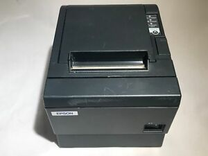 Epson Tm t88iii M129c Pos Thermal Kitchen Receipt Printer Serial No Ps