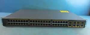 Cisco Systems Catalyst 2960 Series Network Switch Ws c2960 48tc l V03