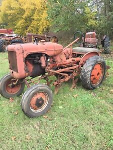 B Allis Chalmers Tractor 1938