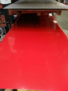 Alloy 3003 Aluminum Painted Red Sheet 040 X 36 X 48