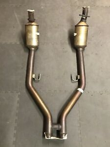05 09 4 6l Ford Mustang Oem Catalytic Converter H Pipe Exhaust Assembly