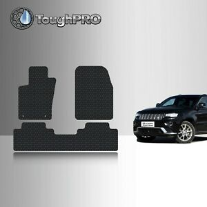 Toughpro Floor Mats Black For Jeep Grand Cherokee All Weather 2011 2021