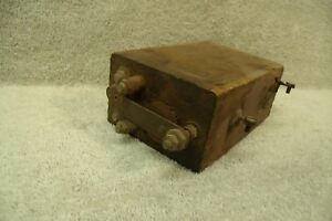 Vintage Model T Ignition Coil Kw Wooden Box