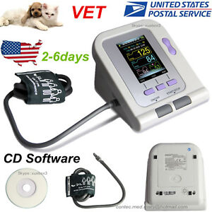 Usa vet Veterinary Contec08a Digital Lcd Blood Pressure Monitor 6 11cm Nibp Cuff