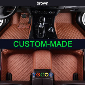 Car Floor Mats For Toyota Land Cruiser Prado 5 Seat 2004 2009 Car Carpets Mats