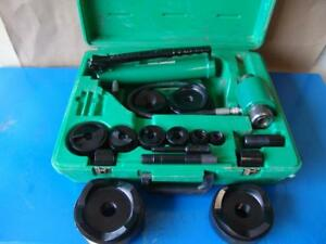 Greenlee 7310 Hydraulic Knockout Punch And Die Set 1 2 To 4 8 31 3
